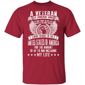 A Veteran, My Life T-Shirt