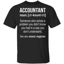 Accountant Definition T-Shirt