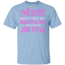 Accountant Job Title T-Shirt