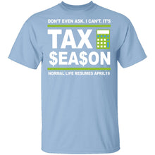 Accountant Normal Life Resumes April 19 T-Shirt