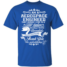 Aerospace Engineer Fantasy World T-Shirt