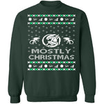Alien Ugly Christmas Sweater CustomCat