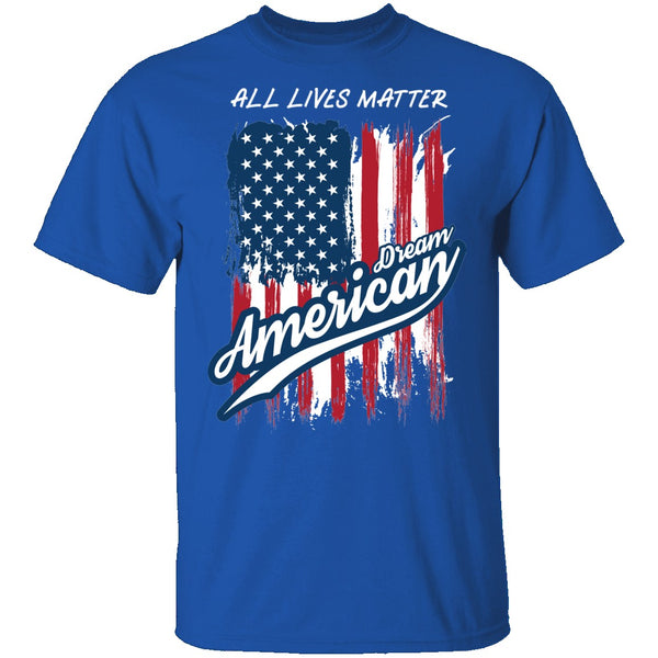 All lives matter T-Shirt CustomCat