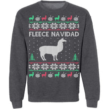 Alpaca Fleece Navidad Ugly Christmas Sweater