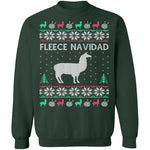 Alpaca Fleece Navidad Ugly Christmas Sweater CustomCat
