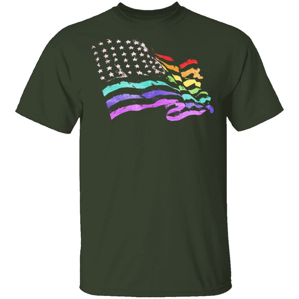 American Pride T-Shirt CustomCat