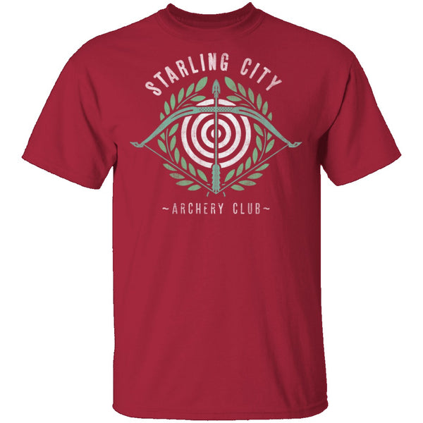 Archery Club T-Shirt CustomCat