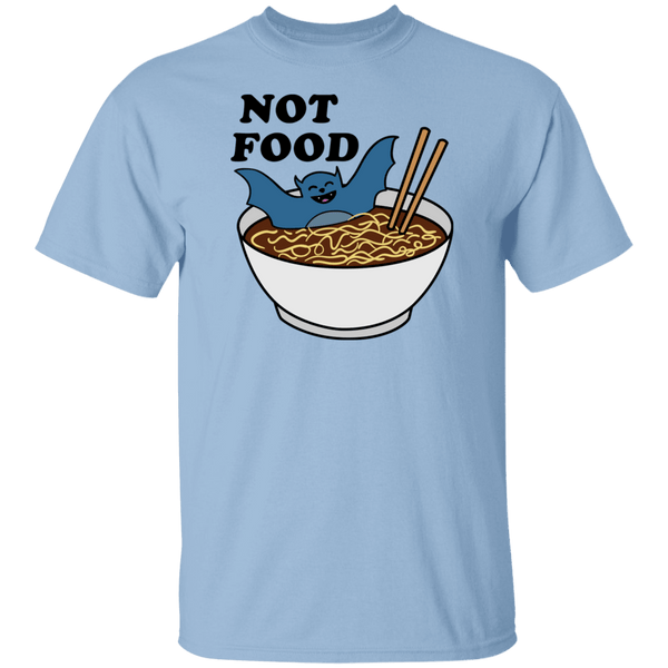 Bats are not Food T-Shirt CustomCat