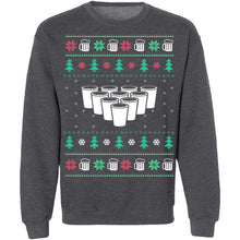 Beer Pong Ugly Christmas Sweater