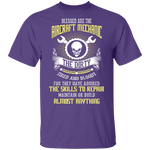 Blessed Are The Aircraft Mechanic T-Shirt CustomCat