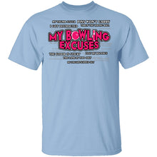 Bowling Excuses T-Shirt