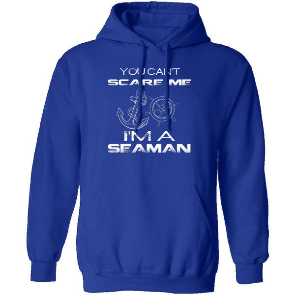 Can't Scare A Seaman T-Shirt CustomCat