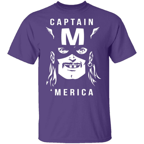 Captain Merica T-Shirt CustomCat