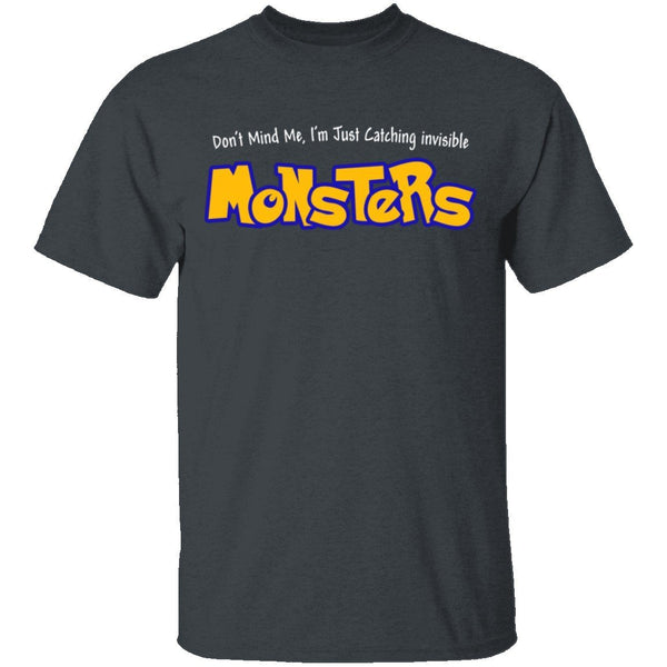 Catching Invisible Monsters Pokemon T-Shirt CustomCat