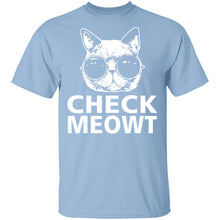 Check Meowt T-Shirt