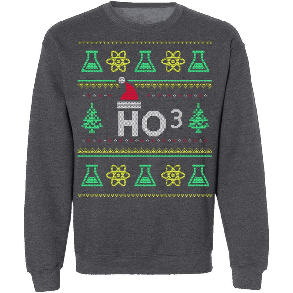 Chemistry Ugly Christmas Sweater CustomCat