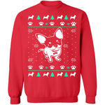 Chihuahua Ugly Christmas Sweater CustomCat