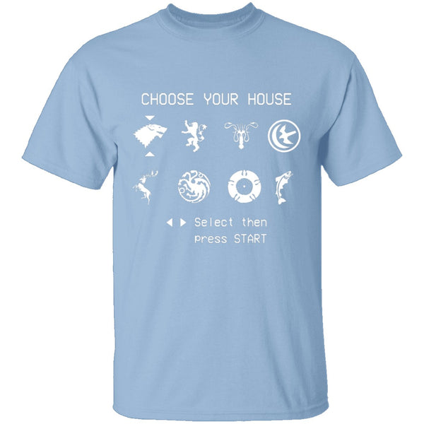 Choose Your House Game of Thrones T-Shirt CustomCat