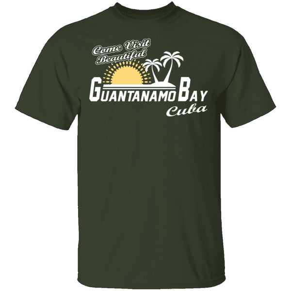 Come Visit Guantanamo Bay T-Shirt CustomCat