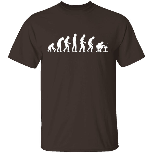 Computer Evolution T-Shirt CustomCat