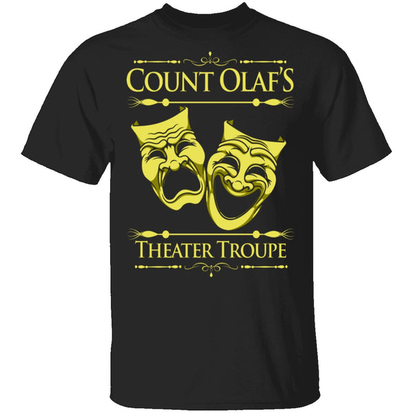 Count Olaf's Theater Troup T-Shirt CustomCat