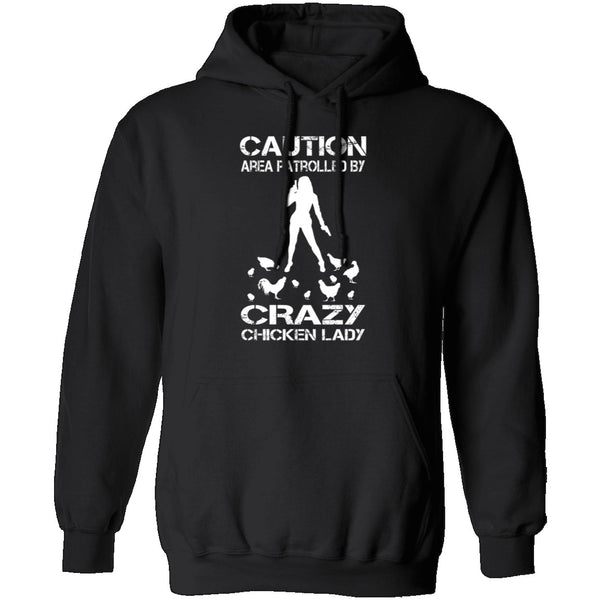 Crazy Chicken Lady T-Shirt CustomCat