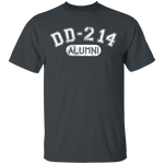 DD-214 Alumni T-Shirt CustomCat