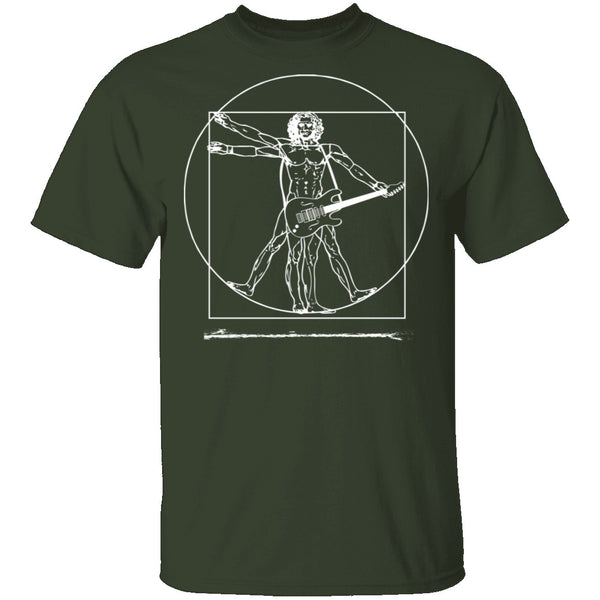 Da Vinci Rock Man T-Shirt CustomCat