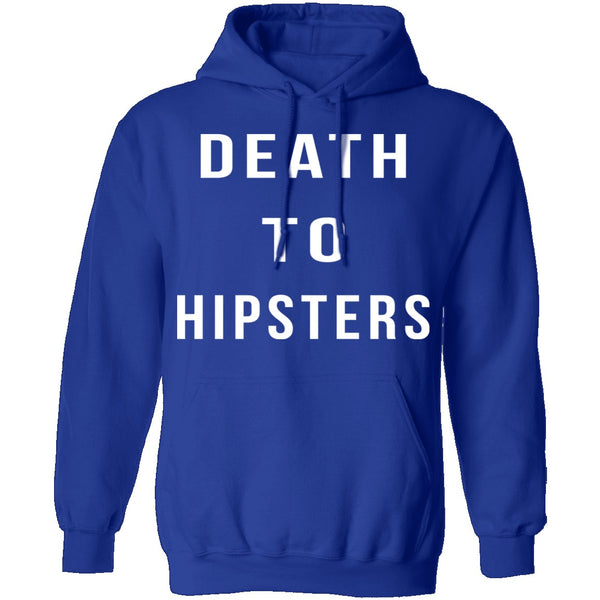 Death To Hipsters T-Shirt CustomCat