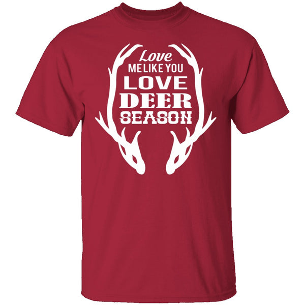 Deer Season T-Shirt CustomCat