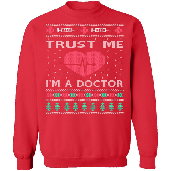 Doctor Ugly Christmas Sweater CustomCat