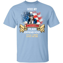 Does My American Flag Offend You T-Shirt