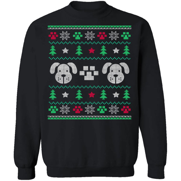 Doggy Ugly Christmas Sweater CustomCat