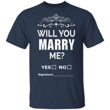 Will you marry me? T-shirts & Hoodie