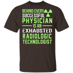 Exhausted Radiologic Technologist T-Shirt CustomCat