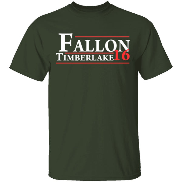 Fallon And Timberlake 2016 T-Shirt CustomCat