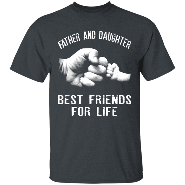 Father and Daughter T-Shirt CustomCat