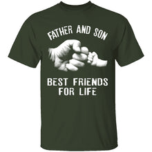 Father and Son Fist Bump Friends T-Shirt