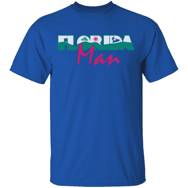 Florida Man T-Shirt CustomCat