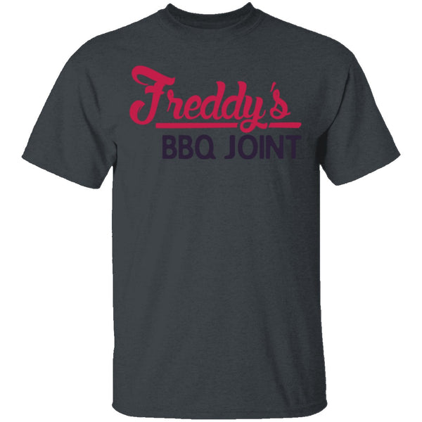 Freddys BBQ Joint House of Cards T-Shirt CustomCat
