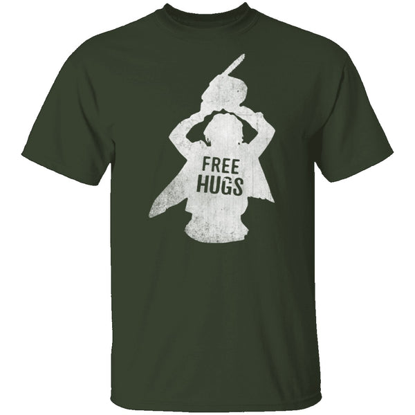 Free Hugs American Psycho T-Shirt CustomCat