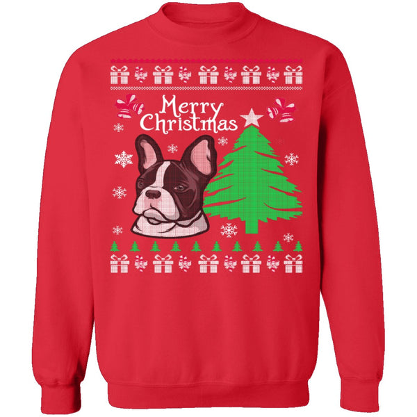 French Bulldog Ugly Christmas Sweater CustomCat