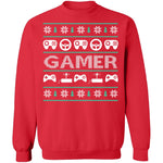Game Controller Ugly Christmas Sweater CustomCat