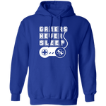 Gamers Never Sleep T-Shirt CustomCat