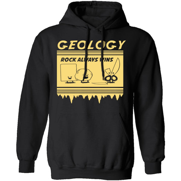 Geology Rock Wins T-Shirt CustomCat