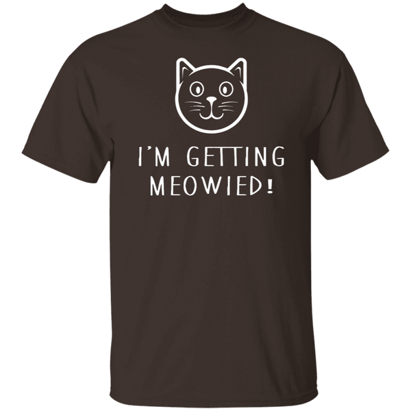 Getting Meowied T-Shirt CustomCat