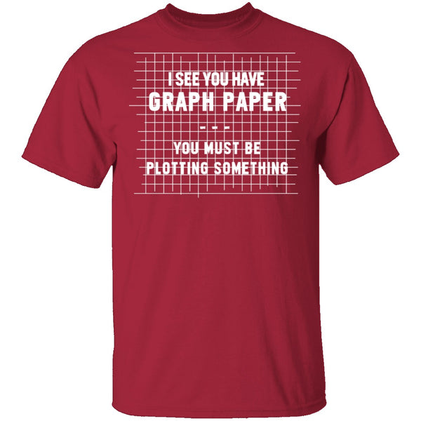 Graph Paper T-Shirt CustomCat