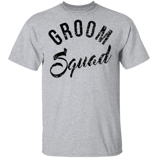 Groom Squad T-Shirt CustomCat
