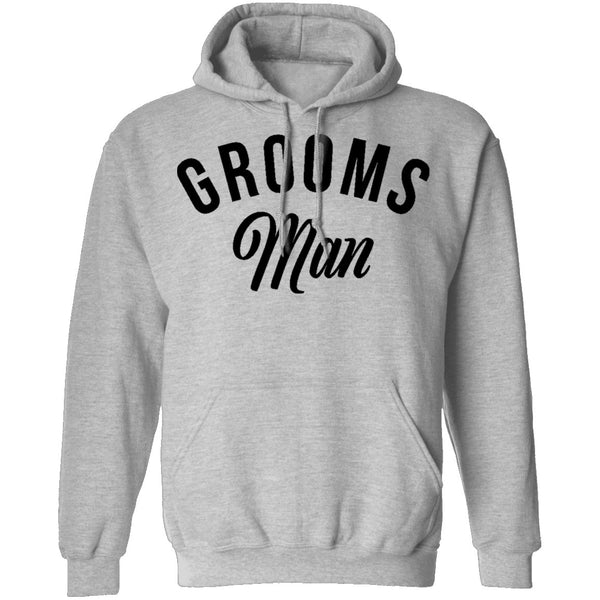 Grooms Man T-Shirt CustomCat