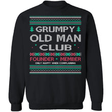 Grumpy Old Man Ugly Christmas Sweater
